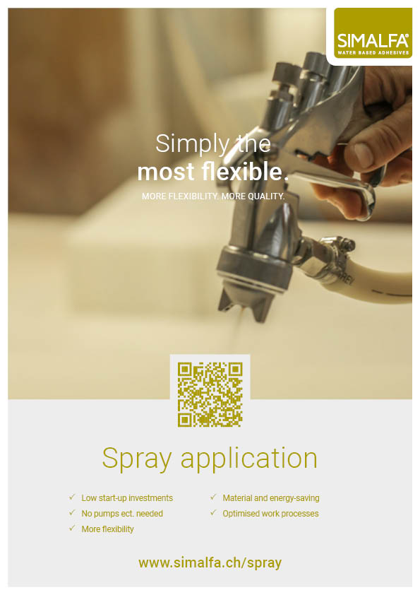 Flyer Spray Application